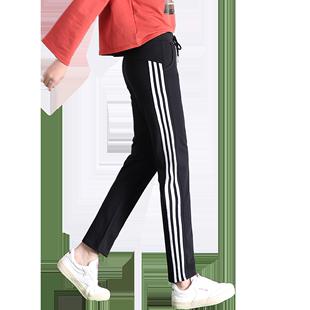 直筒秋冬季宽松显瘦韩版潮运动裤