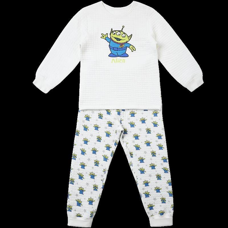 ibaby迪士尼进口棉婴儿内衣套装长袖宝宝连身衣纯棉连体睡衣秋衣_天猫超市优惠券
