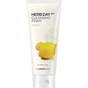 THE FACE SHOP facial cleanser, female mung bean Aloe Vera Cleansing Cream