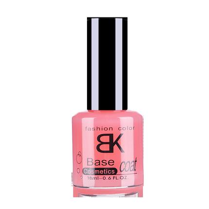 bk透明果冻裸粉色防水养护护甲油