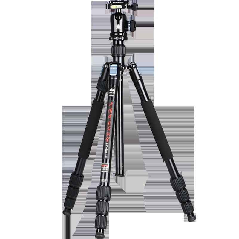 思锐W1004+K10X防水防沙三脚架佳能单反相机反折可拆独脚三角架