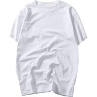 夏装男士纯白色黑色短袖纯棉女t恤质量好不好