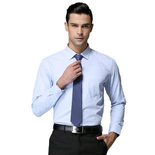 新品免烫上班白色男士男装职业衬衫