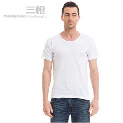(2件装)三枪男全棉夏汗布老头衫