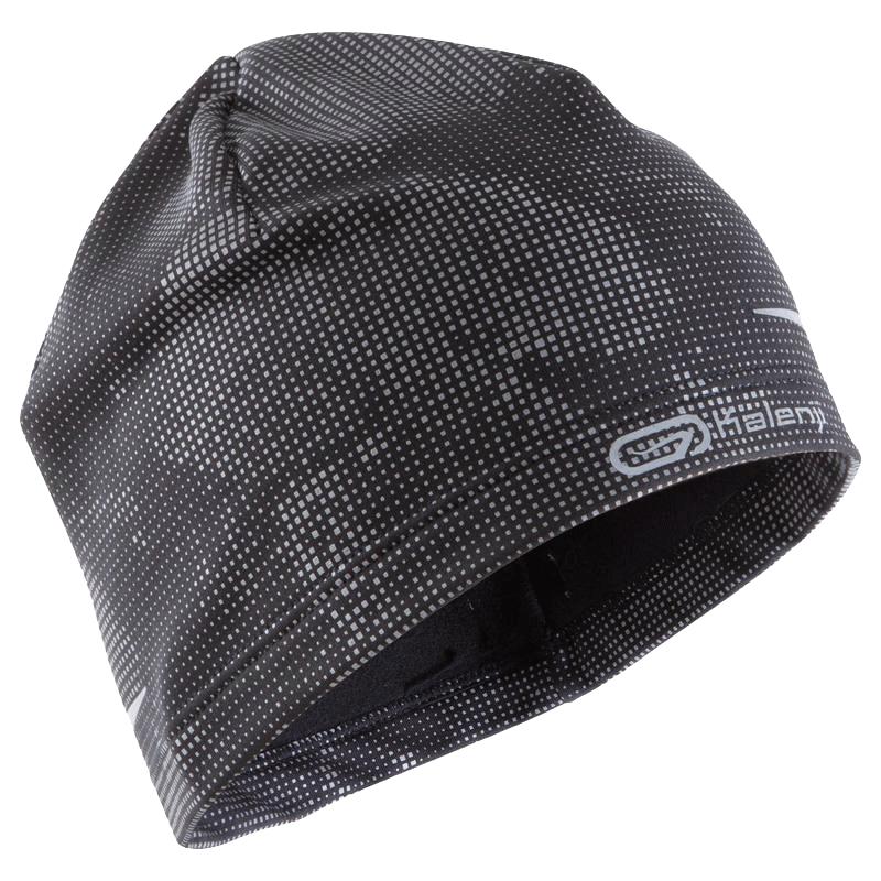 迪卡侬帽子男运动帽女秋冬户外休闲跑步速干透气保暖针织帽RUNS