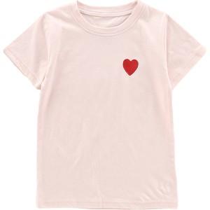 纯棉女童短袖2021年夏季白色t恤