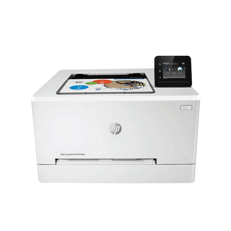 惠普/hp m254dw彩色激光無線wifi糖果派對現金賭錢軟件照片A4自動雙面打印家用 辦公商用無線直連替HP M252DW升級版