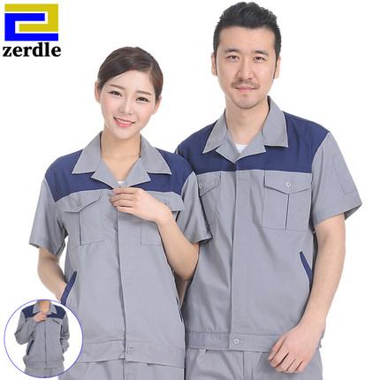 夏季定制防晒男女长、短袖工作服