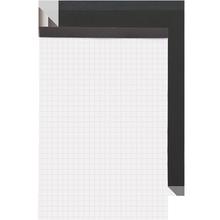 齐心笔记本子记事本商务方格本A4拍纸本套装文具大学生用网格本
