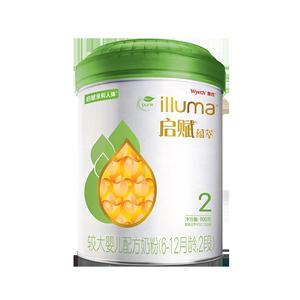 【官方】惠氏有机2段900g奶粉