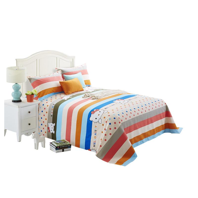 直播专享加厚100%全棉老粗布凉席单单件帆布被单纯棉1.5m1.8米床