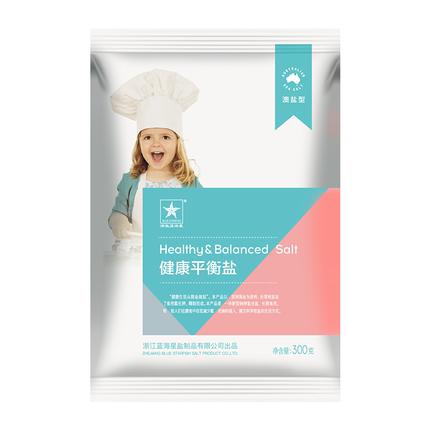 浙蓝海星澳洲健康平衡盐6袋食盐
