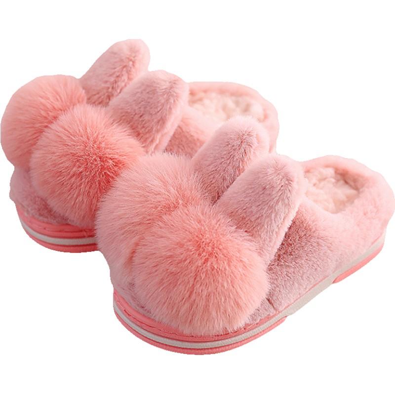 女童秋冬室内可爱家居1儿童棉拖鞋性价比高吗
