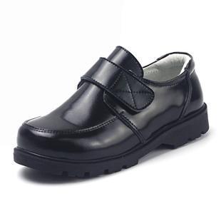 加绒学生演出小男孩真皮英伦皮鞋