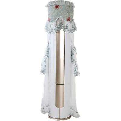 圆形空调罩防尘套立式柜机海尔科龙圆柱客厅美的格力盖布开机不取