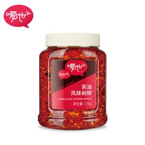 嗳也湖南特色茶油风味剁辣椒豆豉