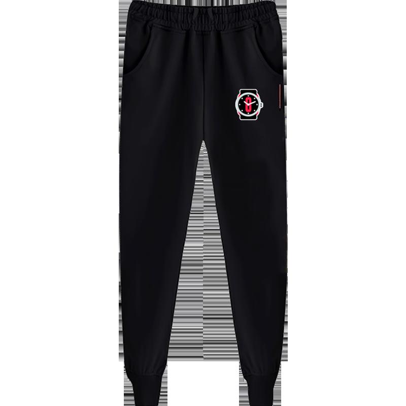开拓者队达米恩利拉德篮球卫裤运动长裤男士休闲裤子收口缩束脚裤