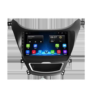 现代朗动大屏4g车载导航中控记录仪