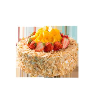 合肥同城配送巴莉甜甜馬提拉陽光生日蛋糕乳酪提拉米蘇水果蛋糕