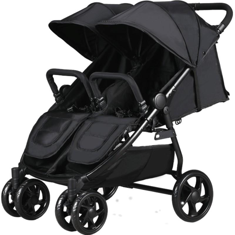 chbaby双胞胎婴儿高景观可坐手推车使用评测