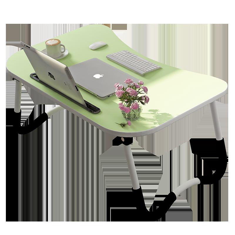 床上书桌折叠桌宿舍笔记本电脑桌多功能寝室学生小桌子懒人做桌