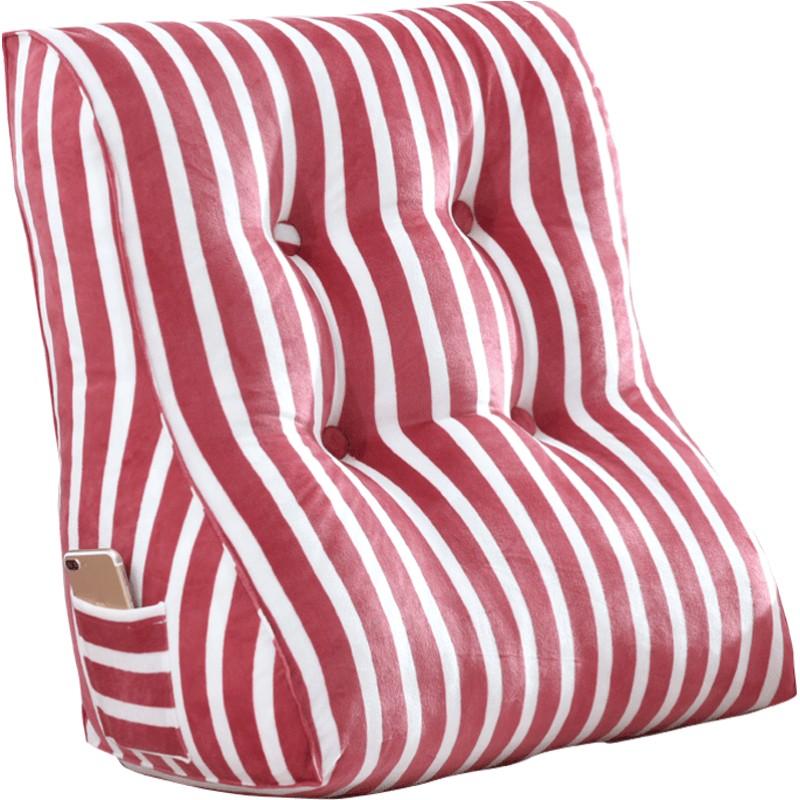 护腰床头大三角沙发床上软靠垫质量怎么样