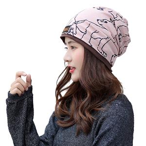头巾堆堆帽时尚包头帽防风月子帽