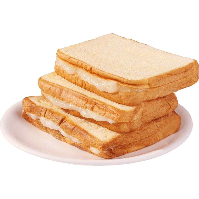 夹心吐司营养早餐整箱奶酪切片面包