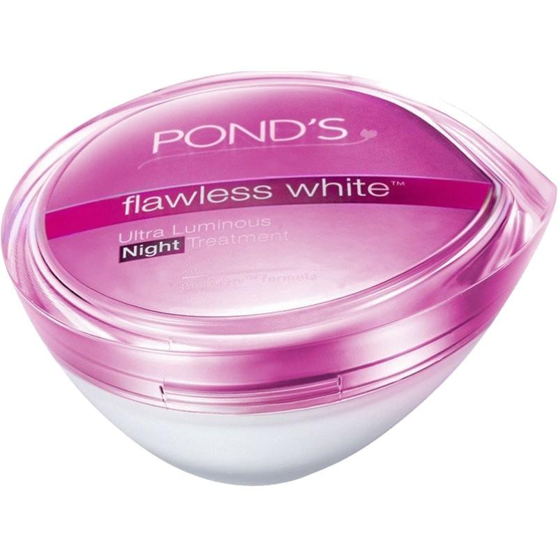 ponds /旁氏无瑕透白精致修护晚霜质量如何