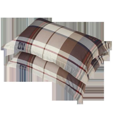一对装睡康宁纯棉成人学生短枕头套