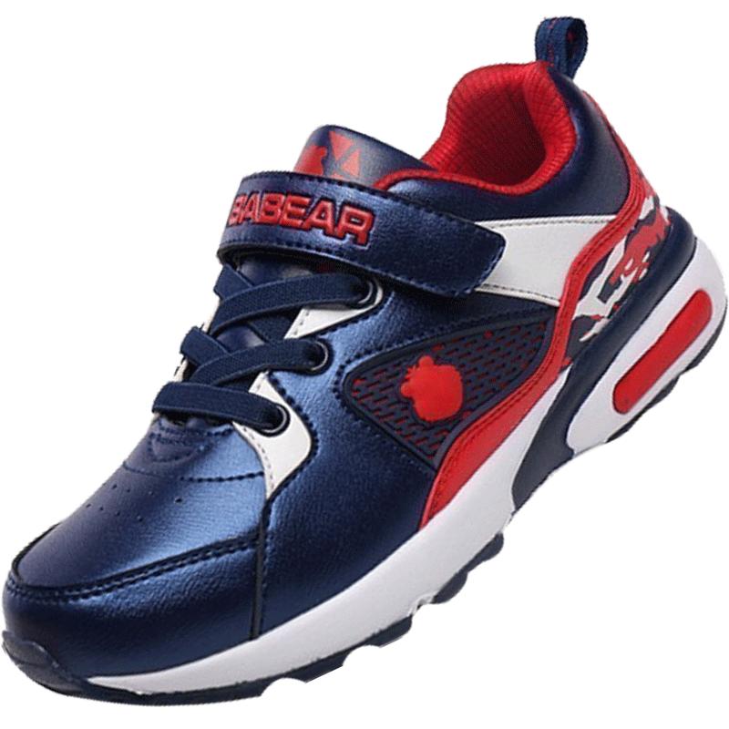笨笨熊童鞋2019新款防滑男童运动鞋秋季休闲儿童鞋小男孩学生跑鞋