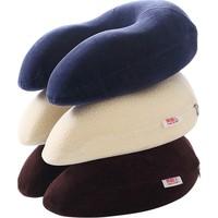 南极人u型枕记忆棉单人颈椎护颈枕使用评测分享