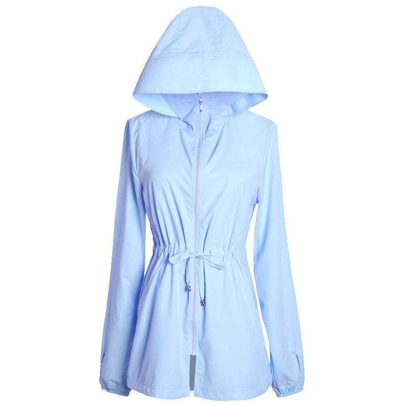 2020新款防晒衣女夏季韩版中长款百搭防晒服薄款外套女夏天防晒衫