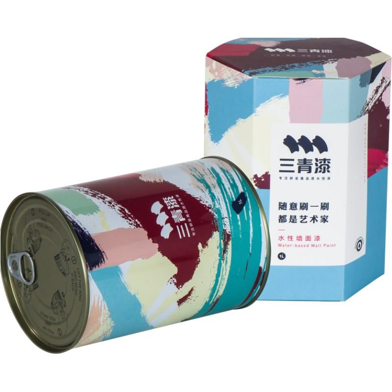 室内家用环保自刷内墙灰白色乳胶漆使用评测分享