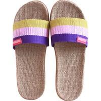 亚麻拖鞋女夏季室内厚底情侣软底怎么样