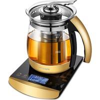韩国现代家用玻璃电煮茶壶养生壶质量好不好