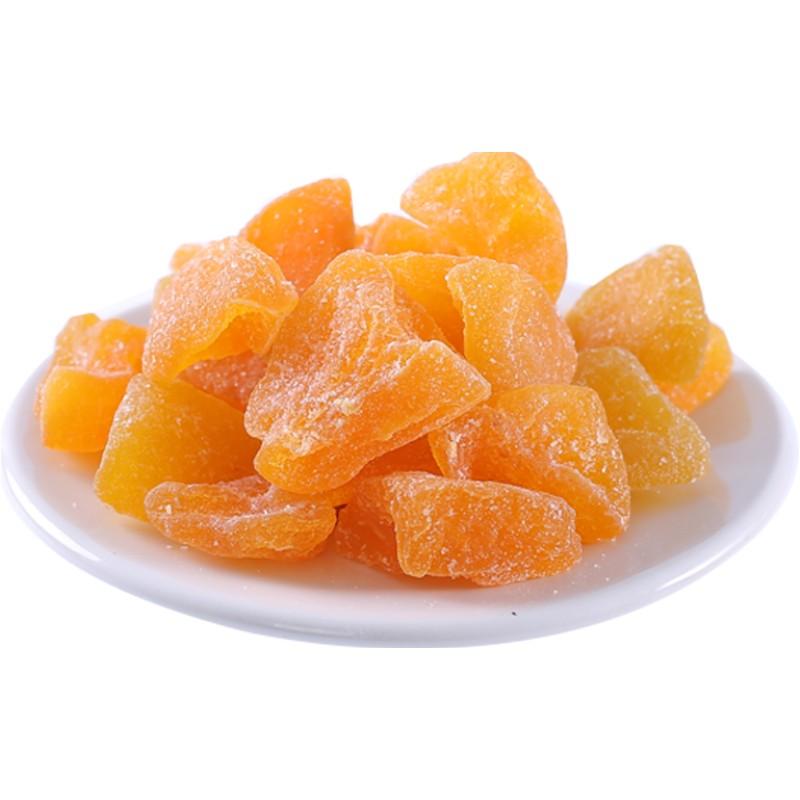 李雷与韩梅梅黄桃干100g蜜饯果脯水果干桃肉零食桃子干桃脯小包装