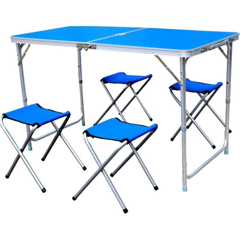 折叠桌户外夜市摆摊餐桌椅便携式