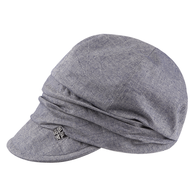 法国爱丽榭 鸭舌帽女夏潮韩版百搭2019新款遮阳帽出游街头平沿帽