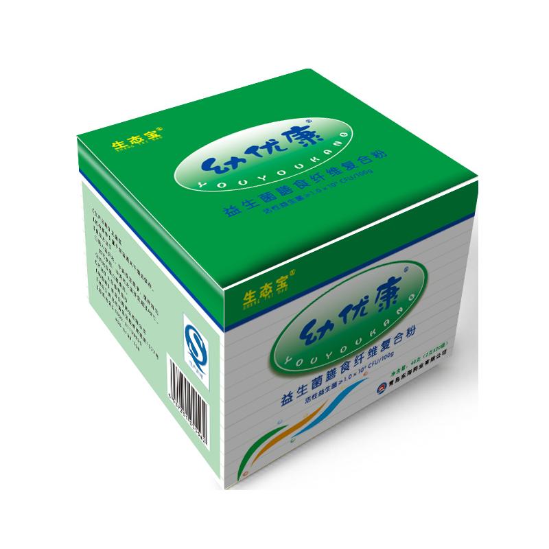 顺丰包邮 生态宝益生菌儿童肠道肠胃健康幼优康膳食纤维复合粉