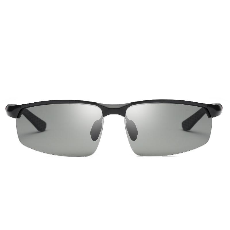 日夜两用变色眼镜驾驶偏光太阳镜男司机夜视开车钓鱼潮人男士墨镜