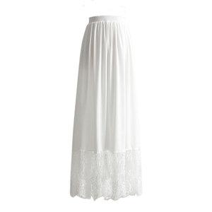 领【1元券】购买汉服内搭加长3米摆a字蕾丝打底裙