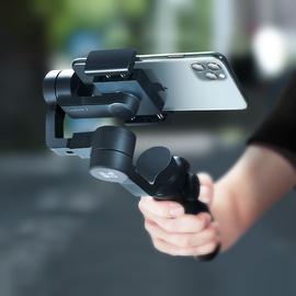 手持云台防抖稳定器手机拍摄拍照辅助vlog神器视频相机微三轴平衡自拍三脚架单反摄像机支架杆适用于小米华为
