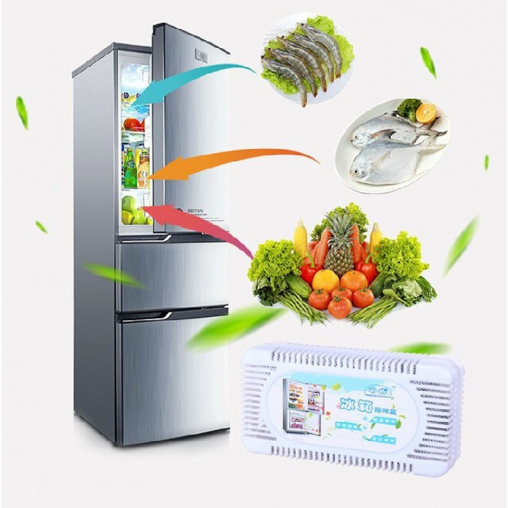 Refrigerator deodorant activated carbon storage box household fresh-keeping box is very well received at home, more affordable and convenient
