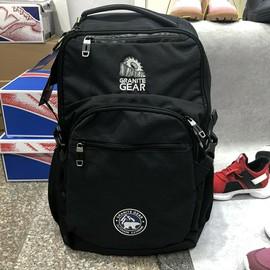 正品美国花岗岩双肩包男休闲大容量书包男士电脑旅行背包7986