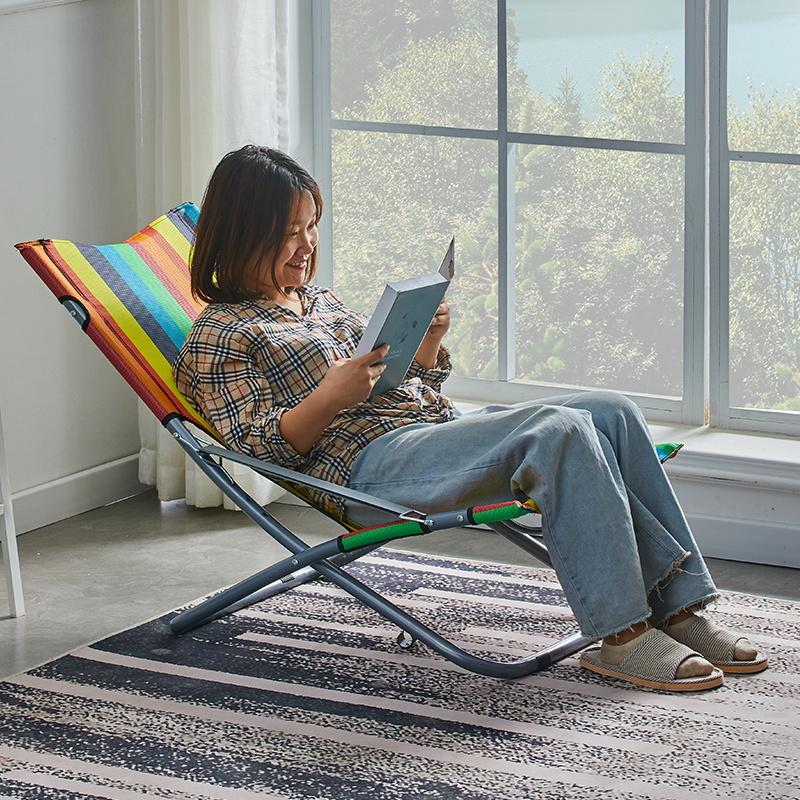 简易便携阳台家用休闲午休懒人椅