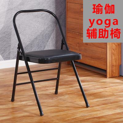 瑜伽椅子凳子辅助椅家用折叠椅子加厚艾扬格yoga折叠椅瑜伽辅具椅