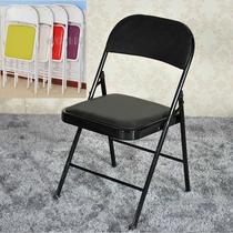 简易凳子靠背椅家用折叠椅子便携办公椅会议椅电脑椅餐椅宿舍椅子