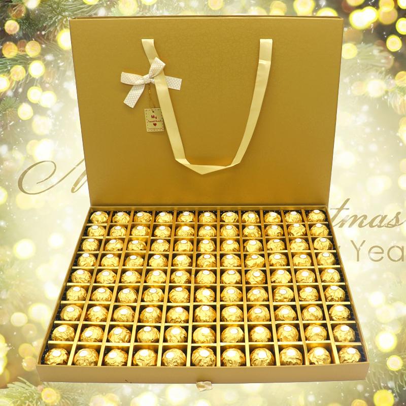 Philatelic Ferrero chocolate 99 gift box for girlfriend, boyfriend, birthday creative snacks, National Day gifts