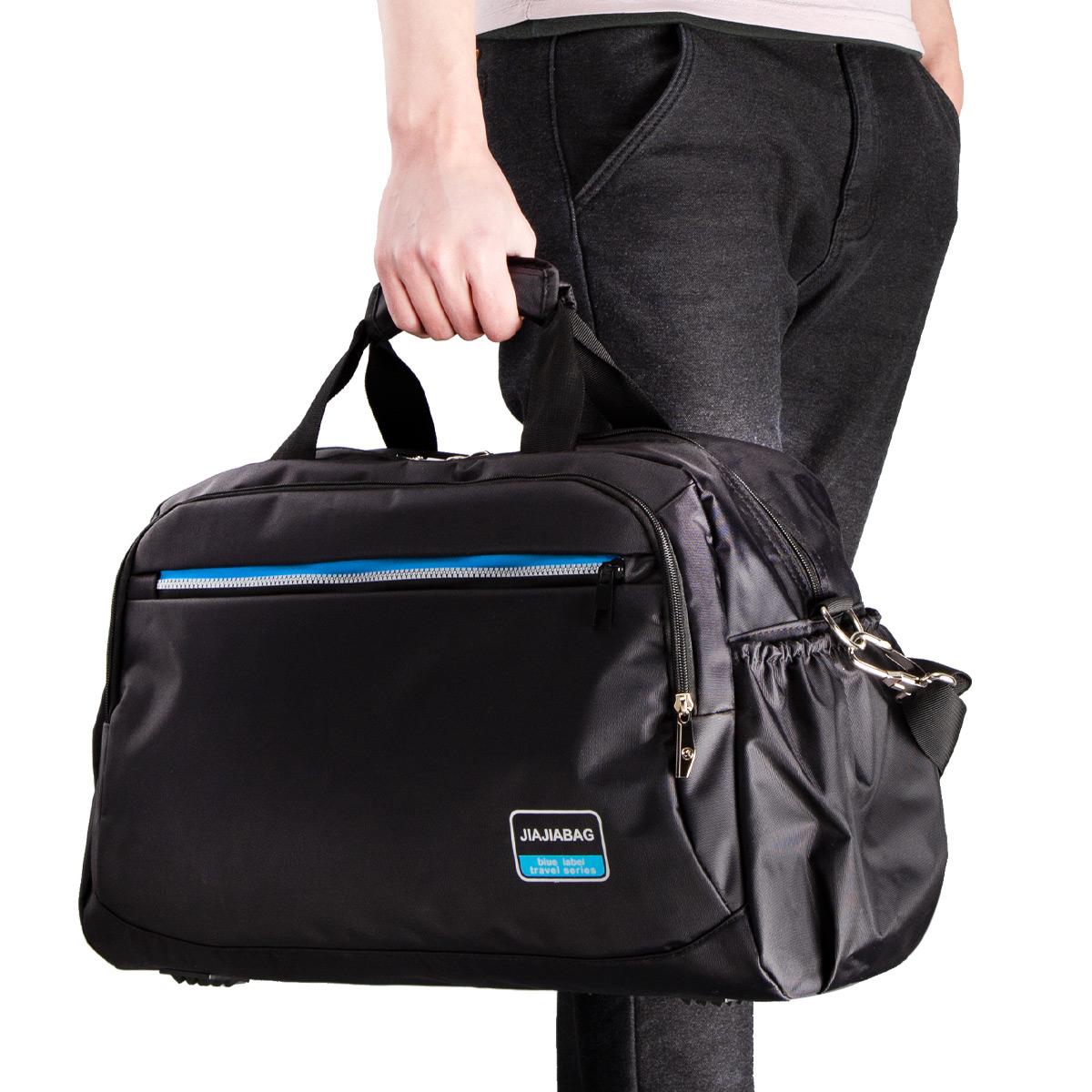 大容量手提斜挎旅行包户外旅行春秋游夏令营运动衣服收纳旅行包袋